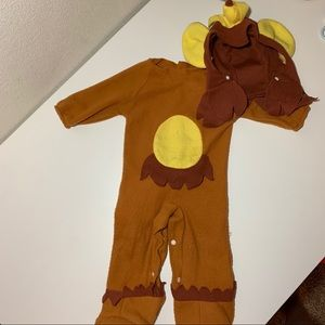 Monkey costume fits 6-12 mo